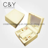 Small Travel Jewelry Display Box for Ring Necklace Earring Storage Case
