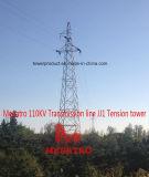 Megatro 110kv Transmission Line Jj1 Tension Tower