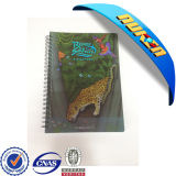 2015 Lovely 3D Lenticular Notebook with Animals