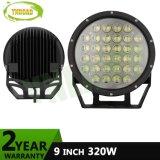 4D 9inch CREE 320W Spot Flood LED Driving Light (4X4)