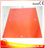 3D Printer Heater Silicone Rubber Heater (1524*1524*1.5mm 480V 7200W 2*50.8mm Hole 1*38.1mm Holes)