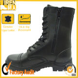 2017 New Design Waterproof Genuine Leather Lace up Military Boots