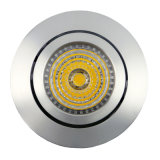 Lathe Aluminum GU10 MR16 Round Tilt Recessed LED Spotlight (LT2202A)