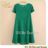Women Magnificent Any Colour Short Sleeve Lace Casual Dress