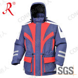 New Designed Waterproof and Breathable Ski Jacket for Winter (QF-610)