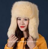 Wholesale Women Russian Style Faux Fox Fur Hat Qy-H1