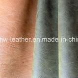 Synthetic PU Leather for Trolley Handbag Sofa Hw-546