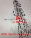 110kv F4z Four Circuit Suspension Tower