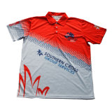 Polyester T Shirt Polo Shirt with Good Design