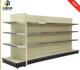 Perforated Panel Metal Supermarket Shelf
