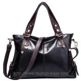 Fashion Burnished Leather Women Handbags (MH-6027)