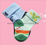 Cartoon Custom Cotton Baby Socks (DL-CS-13)