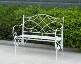 2013 Newest Very Nice Vintage Fashion Folding Antique Classical Antirust Metal Decorative Garden Patio Outdoor Bench with Two Seats (PL08-8671)