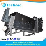 Multi-Plate Screw Press Sewage Treatment Device for Pharmacy Better Than Belt Press