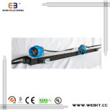 IEC Type Rack PDU with Industrial Plug