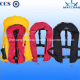 Manual Inflatable Life Jacket/Double Chambers Inflatable Life Jackets