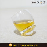 Sublimation Rocking Bottom Custom Spinning Shot Glass