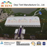 Big Party Tent with Round Table Sitting Arrangement