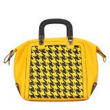 Fashion Yellow Popular Women PU Designer Handbags (MBNO034053)