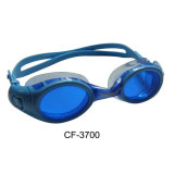 Adult Silicone Swim Goggles with One Piece (CF-3700)