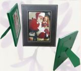 Green PU Leather Stand Photo Frame (PA-003)