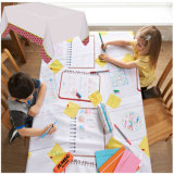 Kids Draw on PE Laminated Tablecover Disposable Paper Tablecloth