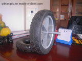 "High Quality Metal Rim 16"" Solid Wheel"