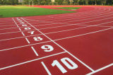 Natural Material Prefabricated Rubber Running Track