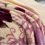 100% Polyester Super Soft Embossed Micro Mink Blanket