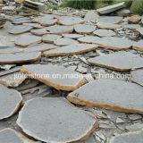 Natural Grey Basalt Stepping Stone for Landscape
