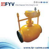 Gear Operation Underground Fully Welded Ball Valve