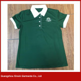 Cheap Polo Shirts for Lady Promotion Beer Girl Uniform (P159)