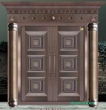 China Double Leaf Copper Door Villa Entrance Door