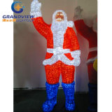 Cute LED Santa Claus for Christmas Decoration with 10% Discount