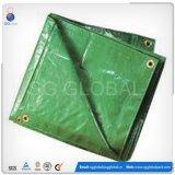 6*12 Green HDPE Coated Waterproof Tarps
