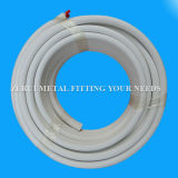 20 Meters Insulated Pair Coil Copper Tube for R410A AC