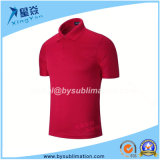 Quick Dry Red Polo T-Shirt for Wholesale