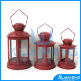 Red Metals Lantern for Wedding Decoration