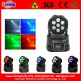 7X10W RGBW 4 In1 Wash Light LED Moving Head