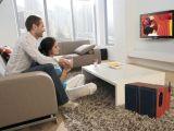 50W Whole Wooden 2.4GHz Hifi Wireless Bookshelf Speaker