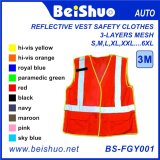 Reflective Vest Safety Clothes with Various Colors