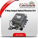 Optical Receiver N-4 with 4 Way Output 1 GHz/Smart Fiber Optic Node with AGC
