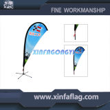 High Quality Teardrop Flag Beach Flag