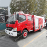 Dongfeng 4X2 3m3 Water Tank Fire Fighting Truck