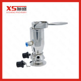 Stainless Steel SS316L Pneumatic Manual Aseptic Sampling Valves