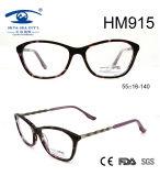 New Arrival Women Fashionable Acetate Optical Frame Eyewear (HM915)
