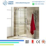 Clear Acid Etched Swing Sliding Frameless Tempered Glass Shower Door