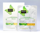 Meizao Face and Neck Placenta-Collagen Mask with Skstrktom Zeienogo Tea