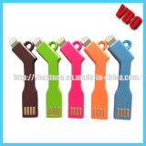 New Private Design Portable Key Chain Charger Cable for iPhone and Samsung