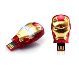 USB Memory Iron Man USB Key 64GB 32GB 16GB 8GB 4GB 2GB (UA81)